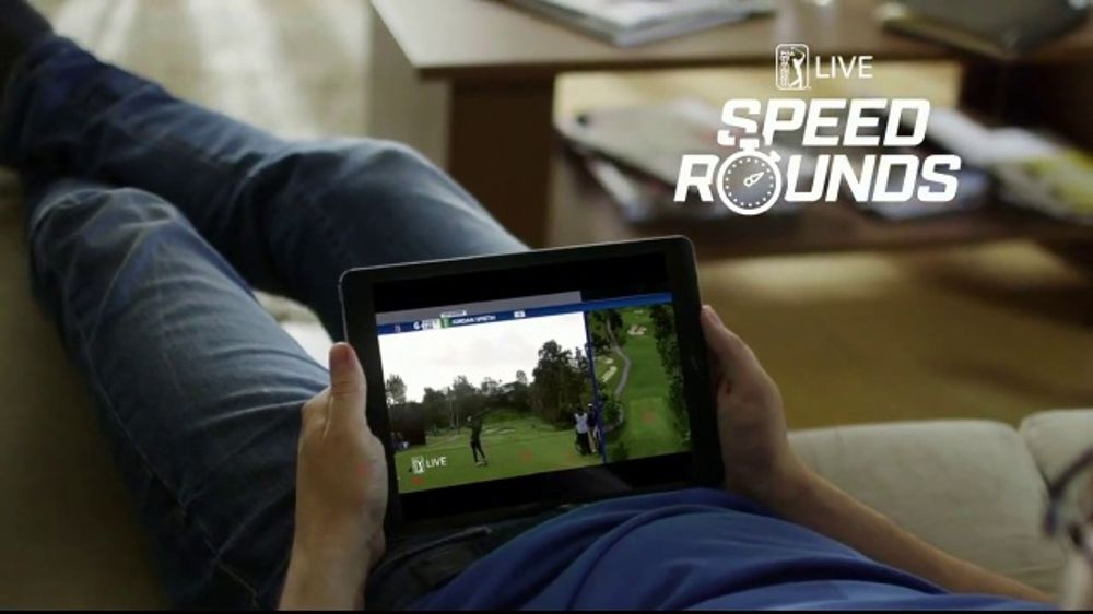 PGA TOUR Live Season Pass TV Commercial, '10 Minute Speed Rounds'
