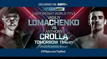 ESPN+ TV Spot, 'Top Rank Boxing: Lomachenko vs. Crolla' - Thumbnail 9