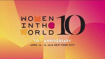 Women in the World TV Spot, '2019 New York Summit' - Thumbnail 10