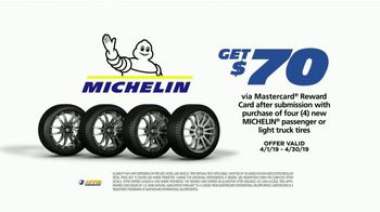 National Tire & Battery Big Brands Bonus Month TV Spot, 'Michelin Reward Card and Oil Change' - Thumbnail 4