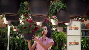 The Home Depot Spring Black Friday TV Spot, 'Herbs & Vegetables or Trimmer & Blower Combo Kit'