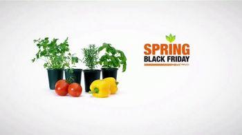 The Home Depot Spring Black Friday TV Spot, 'Herbs & Vegetables or Trimmer & Blower Combo Kit' - Thumbnail 8
