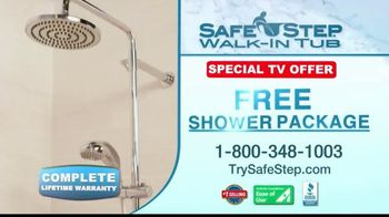 Safe Step TV Spot, 'Free Shower Package' Featuring Pat Boone - Thumbnail 10