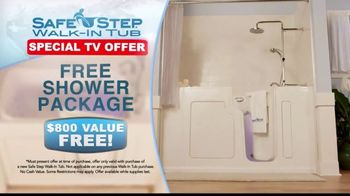 Safe Step TV Spot, 'Free Shower Package' Featuring Pat Boone - Thumbnail 9