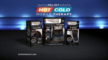 Copper Fit Rapid Relief Wraps TV Spot, 'Hot or Cold Therapy' - Thumbnail 10