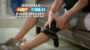 Copper Fit Rapid Relief Wraps TV Spot, 'Hot or Cold Therapy' - Thumbnail 8