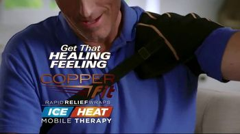 Copper Fit Rapid Relief Wraps TV Spot, 'Hot or Cold Therapy' - Thumbnail 9