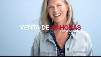 Macy's Venta de 48 Horas TV Spot, 'Pendientes y electrodomésticos' [Spanish] - Thumbnail 1