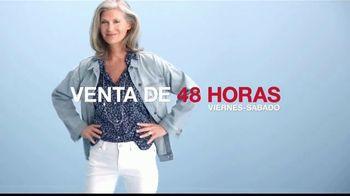 Macy's Venta de 48 Horas TV Spot, 'Pendientes y electrodomésticos' [Spanish] - Thumbnail 2