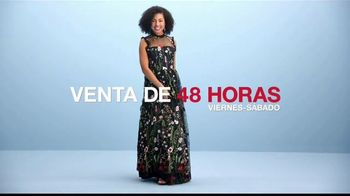 Macy's Venta de 48 Horas TV Spot, 'Vestidos de graduación' [Spanish] - Thumbnail 4