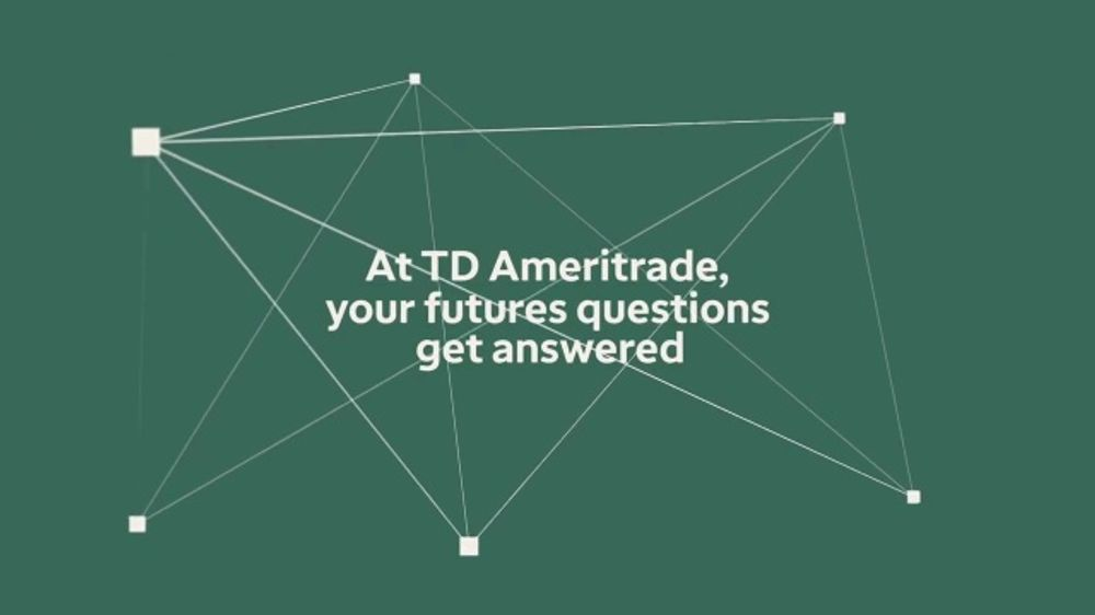 TD Ameritrade TV Commercial, 'Your Futures Questions' - Video