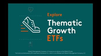 Global X Funds TV Spot, 'Thematic Growth ETFs'