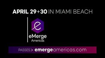 Emerge Americas TV Spot, '2019 Miami: Connecting the Americas' - Thumbnail 1