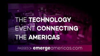 Emerge Americas TV Spot, '2019 Miami: Connecting the Americas' - Thumbnail 3