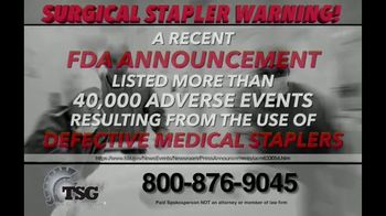 The Sentinel Group TV Spot, 'Surgical Staples' - Thumbnail 2