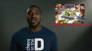 Chevrolet TV Spot, 'In the D: Food Bowls' [T2] - Thumbnail 5