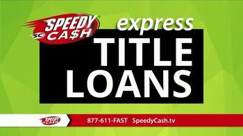 Speedy Cash TV Spot, 'No Title Needed'