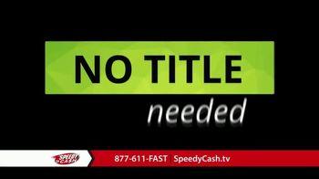 Speedy Cash TV Spot, 'No Title Needed' - Thumbnail 2