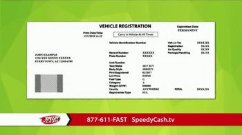 Speedy Cash TV Spot, 'No Title Needed' - Thumbnail 4