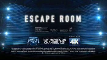 DIRECTV Cinema TV Spot, 'Escape Room' - Thumbnail 7