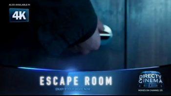 DIRECTV Cinema TV Spot, 'Escape Room' - Thumbnail 1