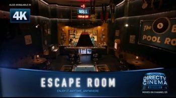 DIRECTV Cinema TV Spot, 'Escape Room' - Thumbnail 3