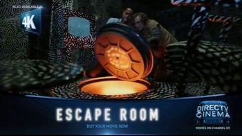 DIRECTV Cinema TV Spot, 'Escape Room' - Thumbnail 4