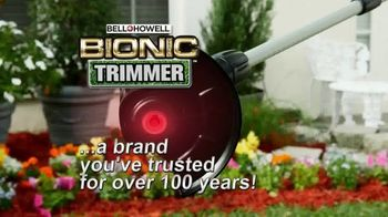 Bell + Howell Bionic Trimmer TV Spot, 'Powerful and Portable'