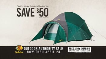 Bass Pro Shops Outdoor Authority Sale TV Spot, 'Henleys and Tents' - Thumbnail 8