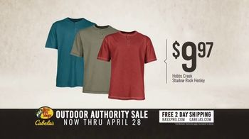 Bass Pro Shops Outdoor Authority Sale TV Spot, 'Henleys and Tents' - Thumbnail 7