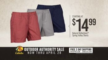 Bass Pro Shops Outdoor Authority Sale TV Spot, 'Ladies Shorts and Fishing Rods' - Thumbnail 3
