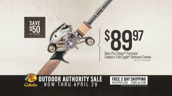 Bass Pro Shops Outdoor Authority Sale TV Spot, 'Ladies Shorts and Fishing Rods' - Thumbnail 4