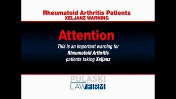 Pulaski Law Firm TV Spot, 'Rheumatoid Arthritis'