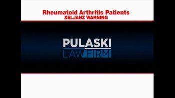 Pulaski Law Firm TV Spot, 'Rheumatoid Arthritis' - Thumbnail 1