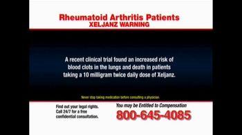 Pulaski Law Firm TV Spot, 'Rheumatoid Arthritis' - Thumbnail 4