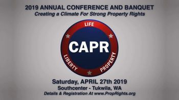 Citizens' Alliance for Property Rights (CAPR) TV Spot, '2019 Tukwila Banquet' - Thumbnail 8