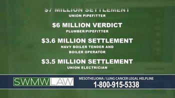 SWMW Law TV Spot, 'Mesothelioma Victims' - Thumbnail 3