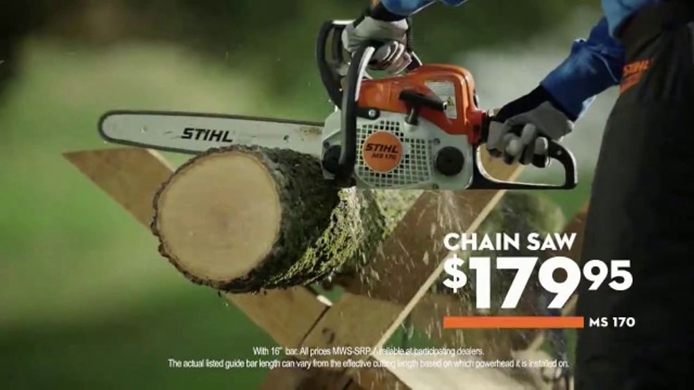 STIHL TV Commercial, 'Real People: Chainsaw and Battery Trimmer' - Video