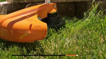 STIHL TV Spot, 'Real People: Chainsaw and Battery Trimmer' - Thumbnail 3