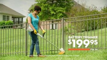 STIHL TV Spot, 'Real People: Chainsaw and Battery Trimmer' - Thumbnail 7