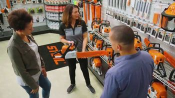 STIHL TV Spot, 'Real People: Chainsaw and Battery Trimmer' - Thumbnail 9