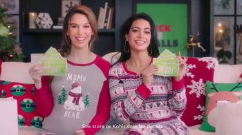 Kohl's TV Spot, 'Freeform: 25 Days of Christmas' Featuring Christy Carlson Romano, Emeraude Toubia - 2 commercial airings