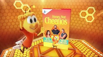 Honey Nut Cheerios Good Rewards TV Spot, 'Buzzcoin Donations' - Thumbnail 3