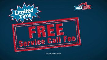 ARS Rescue Rooter TV Spot, 'Free Service Call Fee' - Thumbnail 5