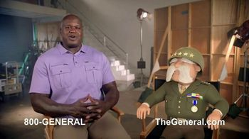 The General TV Spot, 'Strong Suits: Shaq Karate & Karaoke' Featuring Shaquille O'Neal - Thumbnail 2