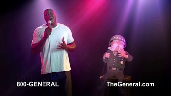 The General TV Spot, 'Strong Suits: Shaq Karate & Karaoke' Featuring Shaquille O'Neal