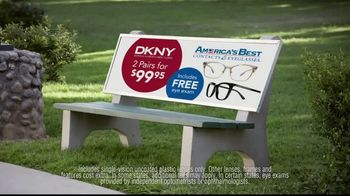 America's Best Contacts and Eyeglasses DKNY Event TV Spot, 'Bird Bath' - Thumbnail 6