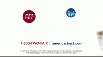 America's Best Contacts and Eyeglasses DKNY Event TV Spot, 'Bird Bath' - Thumbnail 9
