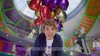 Chuck E. Cheese's All You Can Play Birthdays TV Spot, 'What's the Best Way to Birthday?' - Thumbnail 2