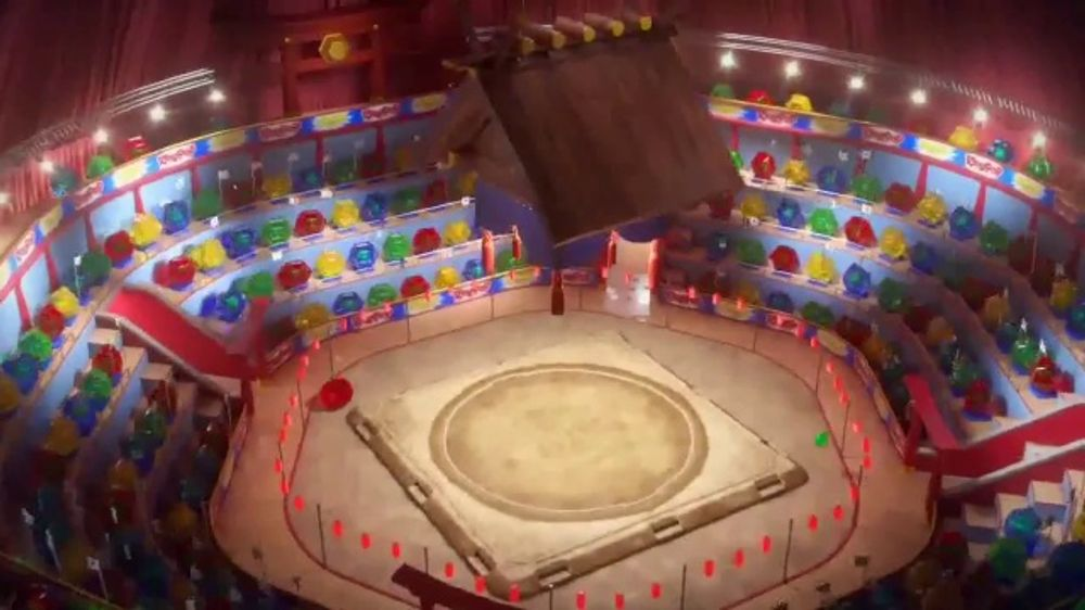 Ring Pop Gummy Gems TV Commercial, 'Sumo Wrestling'
